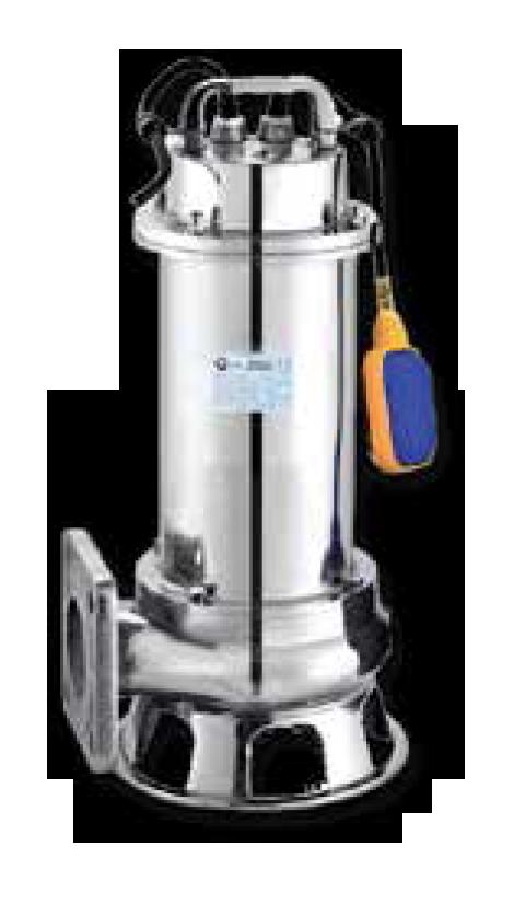 Komple Paslanmaz Gövdeli Atık su pompaları